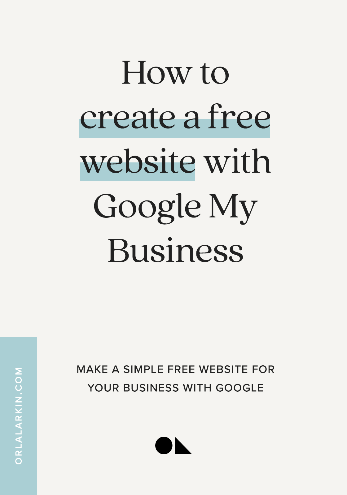 How to create a free website with Google My Business
