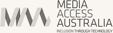 Media Access Australia logo