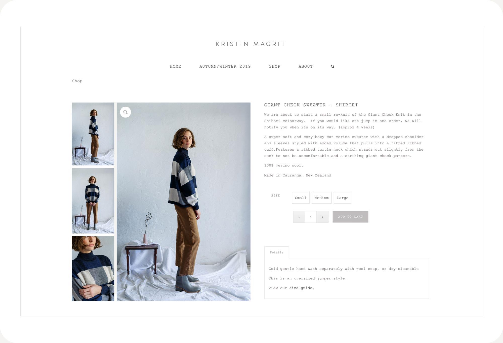 Kristin Magrit's website