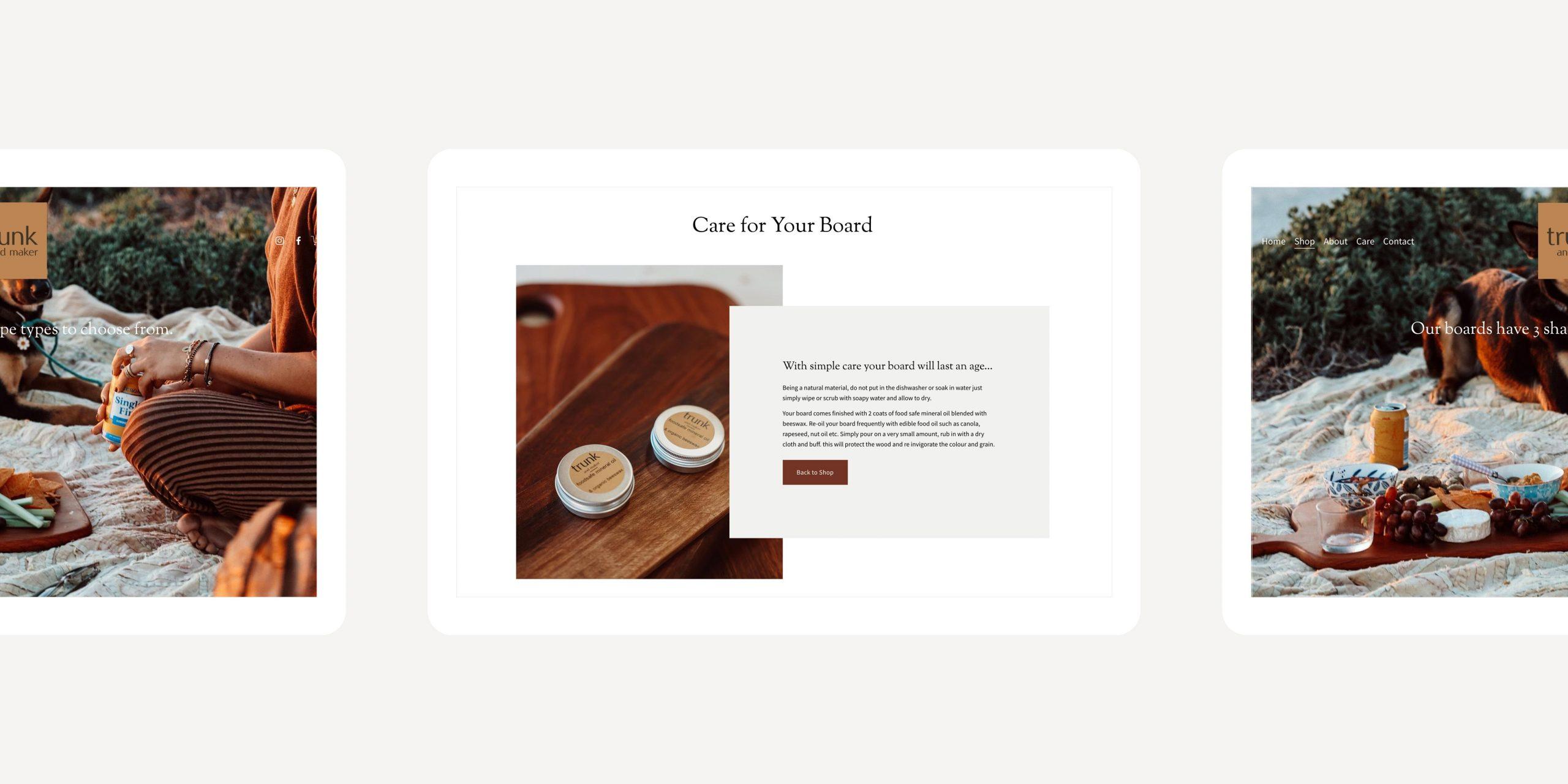 Trunk & Maker boards